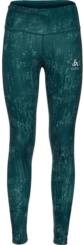 Odlo Zeroweight Print Reflective Tights Damen submerged//Reflective graphic20 2020 Laufsport Hose